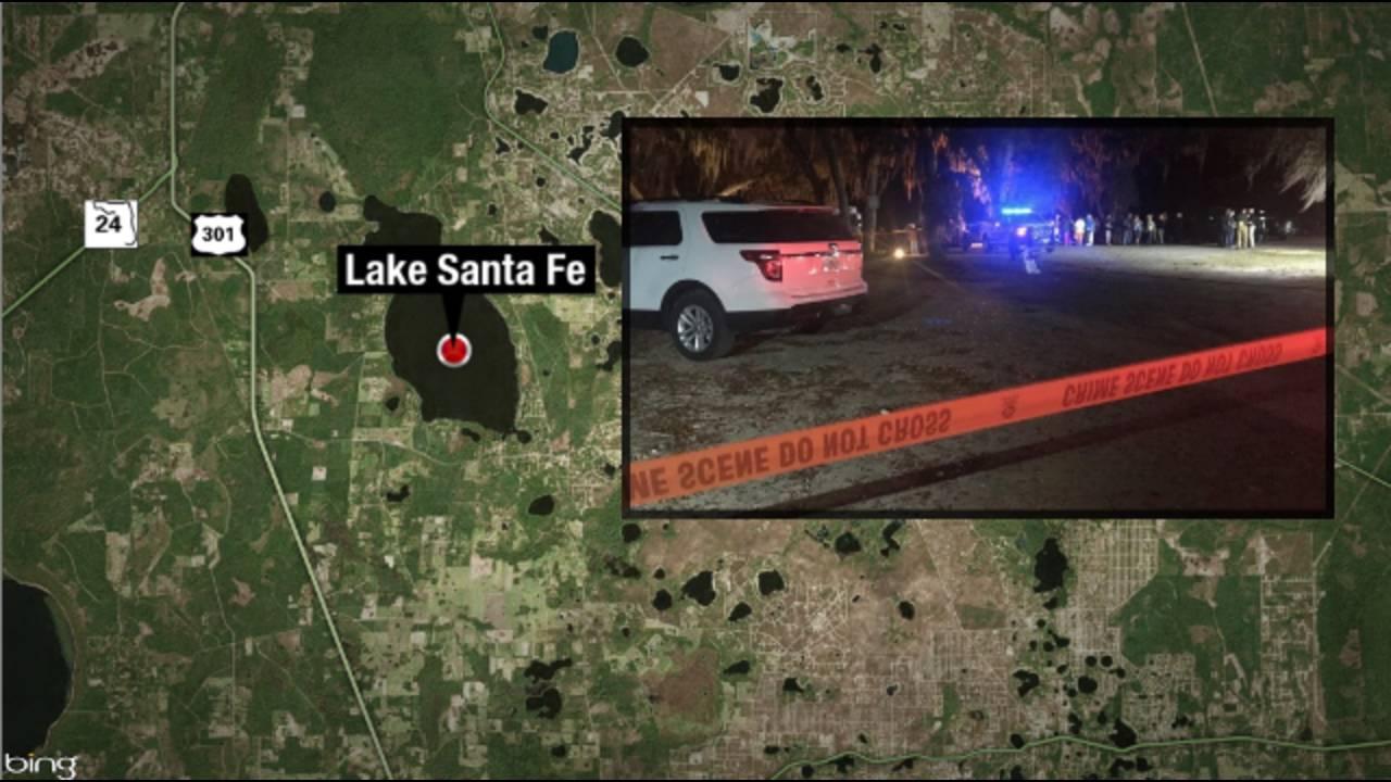 Lake Santa Fe Rescue and map_