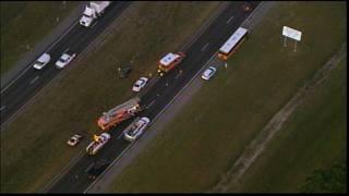 School bus crash slows traffic on SR 417 in Orange County