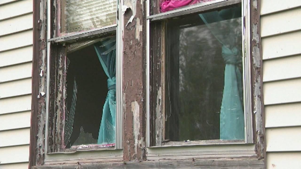 Windows shattered explosion Detroit's west side