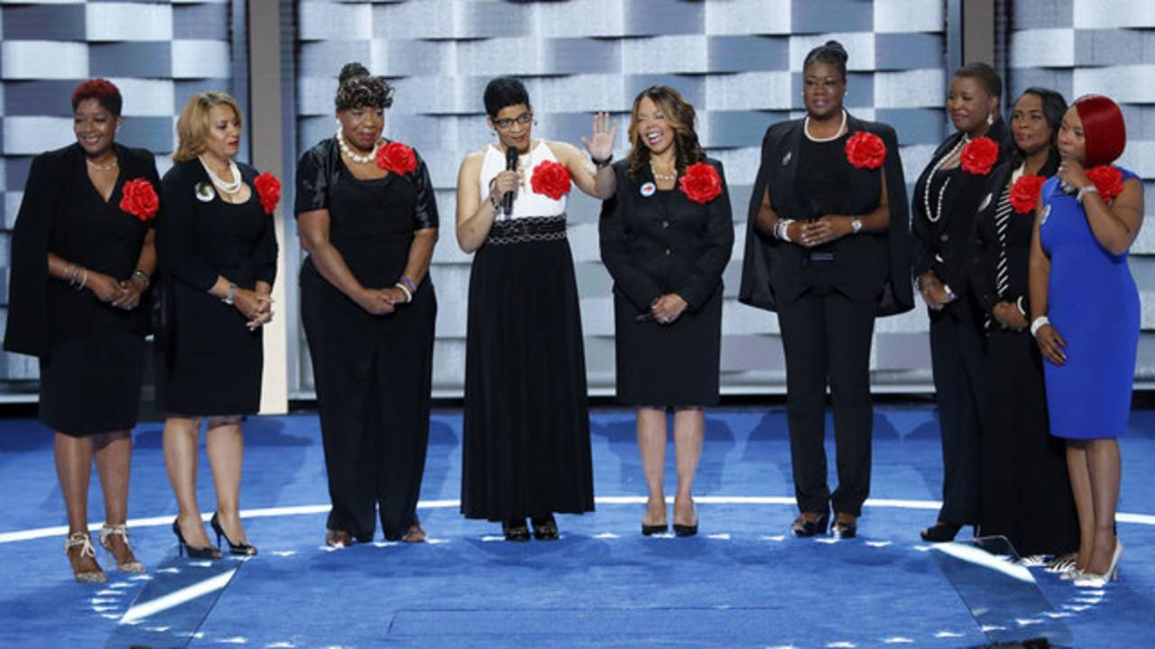 Mothers of the Movement at DNC