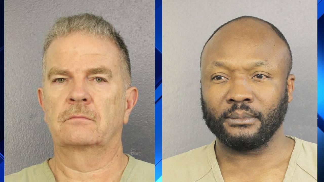 Jorge Carballo and Sergo Colin arrest photos