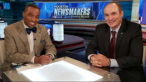 Newsmakers for Aug. 18: Houston mayoral candidate says mayor has too much power