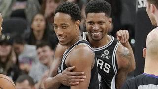 DeRozan's 26 points leads Spurs past Jazz 110-97