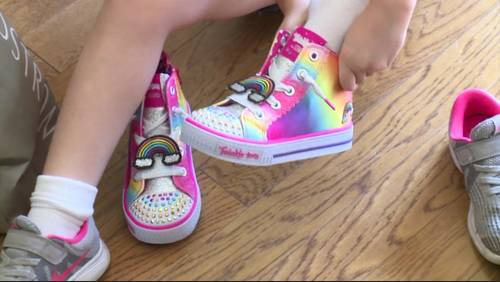 How to find the right-sized shoe for your kid