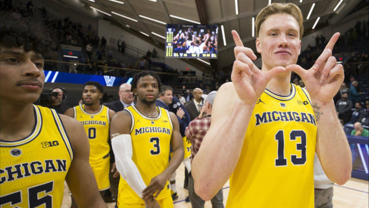 Ignas Brazdeikis Michigan basketball vs Villanova 2018 rematch