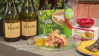 H-E-B Backyard Kitchen: Butter Poached Lobster Tails