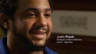 Justin Proch, Local 2 Apprentice
