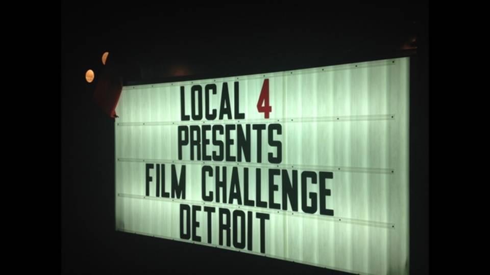 Film Challenge Detroit sign_36008336