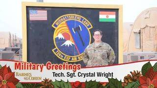 Sgt. Crystal Wright