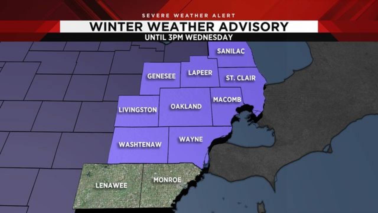 Metro Detroit Weather Forecast Worsens Once Again Tuesday Night