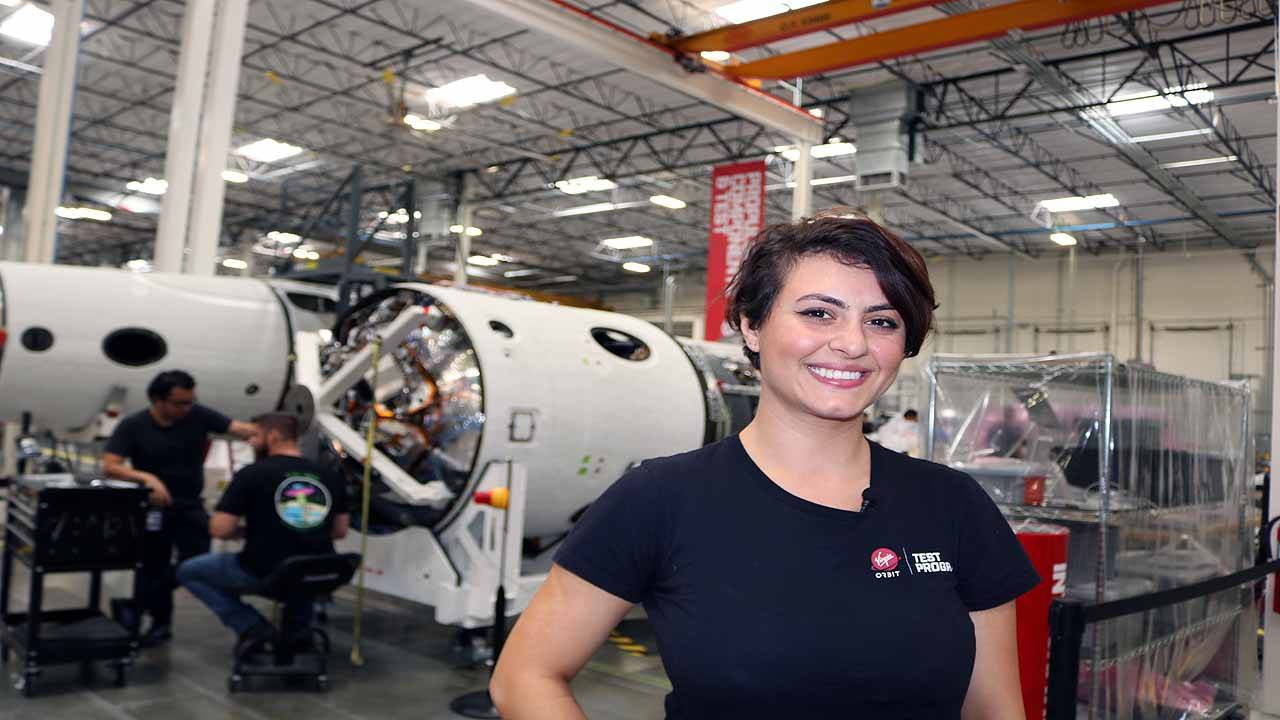 Dina Alsindy Virgin Orbit engineer