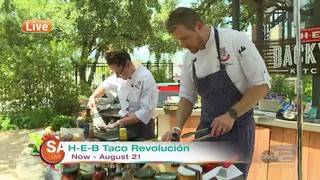 Part 3: Taco competition with H-E-B's Chef Scott and Chef Charlotte