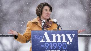 Who is Amy Klobuchar, Democratic candidate for president?