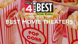 Valentine's Day date spots – Top 10 movie theaters in Metro Detroit
