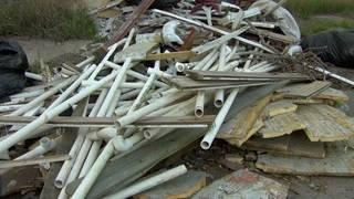 Army veteran, 70, fed up with illegal dumping eyesore in SW Houston neighborhood