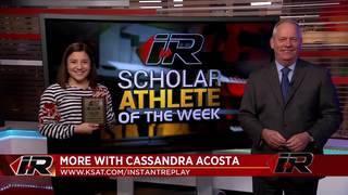Scholar Athlete: Cassandra Acosta, Brackenridge High School