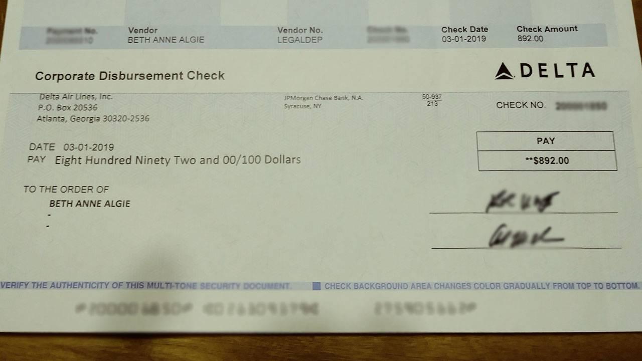 Delta check