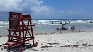 Warm temperatures continue, as do hazardous beach conditions