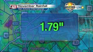Weather 101: November Rainfall