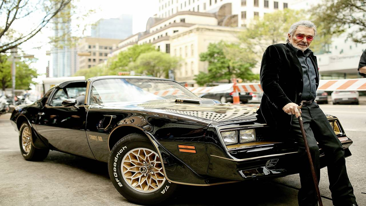 Burt Reynolds with Trans Am
