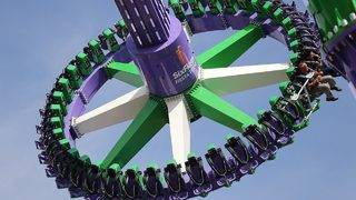 Slideshow: Joker Carnival of Chaos is now open at Six Flags Fiesta Texas