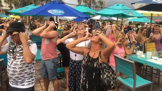 Watch parties across area enjoy glimpse of eclipse