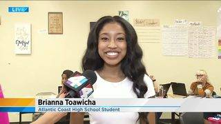 Jacksonville student selected to co-host top teacher award ceremony