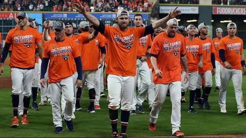 'October Reign': Fans flock to team store after Astros clinch AL West Division title