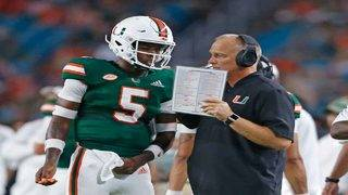 Hurricanes going back to N'Kosi Perry at quarterback