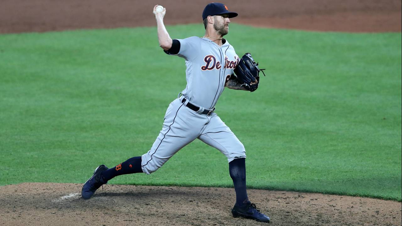 Shane Greene Detroit Tigers vs Orioles 2019