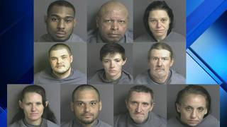 10 arrested as part of drug investigations in Franklin County