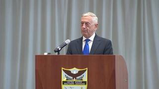 Defense Secretary James Mattis presides over Southcom change of command