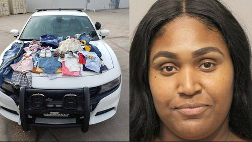 Mother accused of using children to help shoplift from Houston Premium Outlets