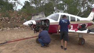 Small plane forced to land in Pinehurst after losing power, officials say