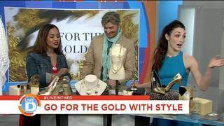 Live in the D: Styling with gold