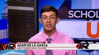 Scholar Athlete: Adam De La Garza, Holy Cross