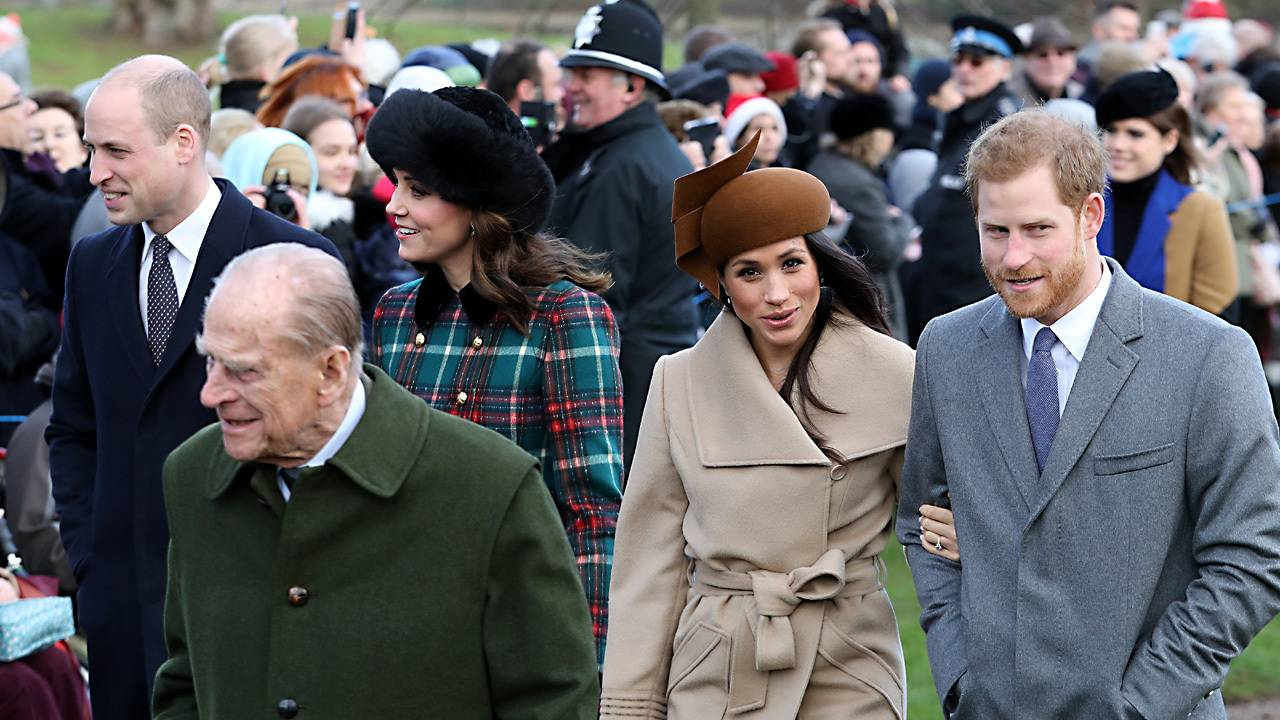 c4d92590b31 Meghan Markle and Prince Harry join royal family at Sandringham