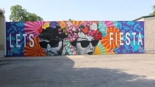 Here's the newest mural for your must-have social media pics