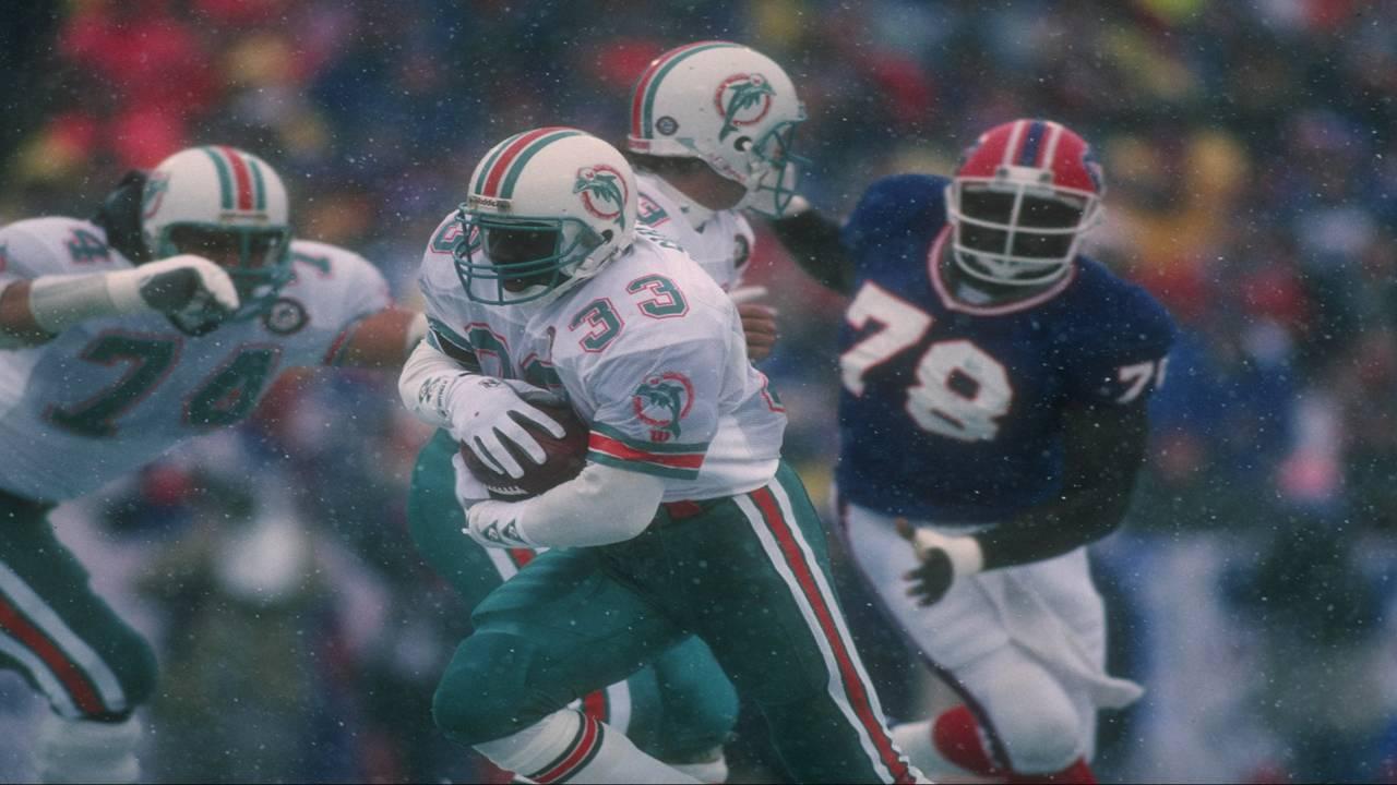 Sammie Smith vs Buffalo Bills in 1991