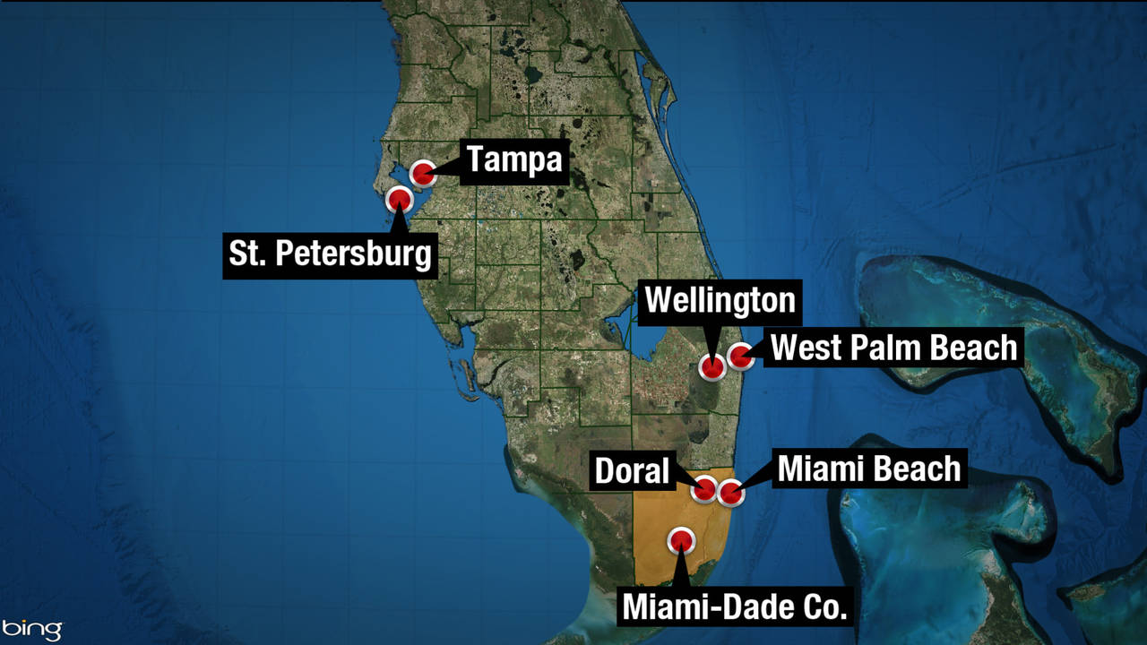 Florida map paid leave