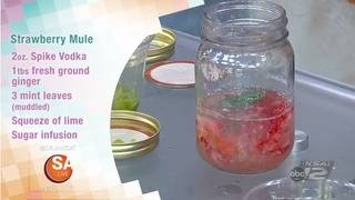 RECIPE: Strawberry Mule cocktail