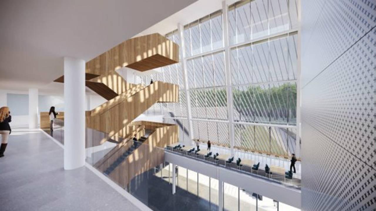 KLA Ann Arbor rendering inside
