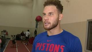 Blake Griffin on Pistons opener: I'm ready to go