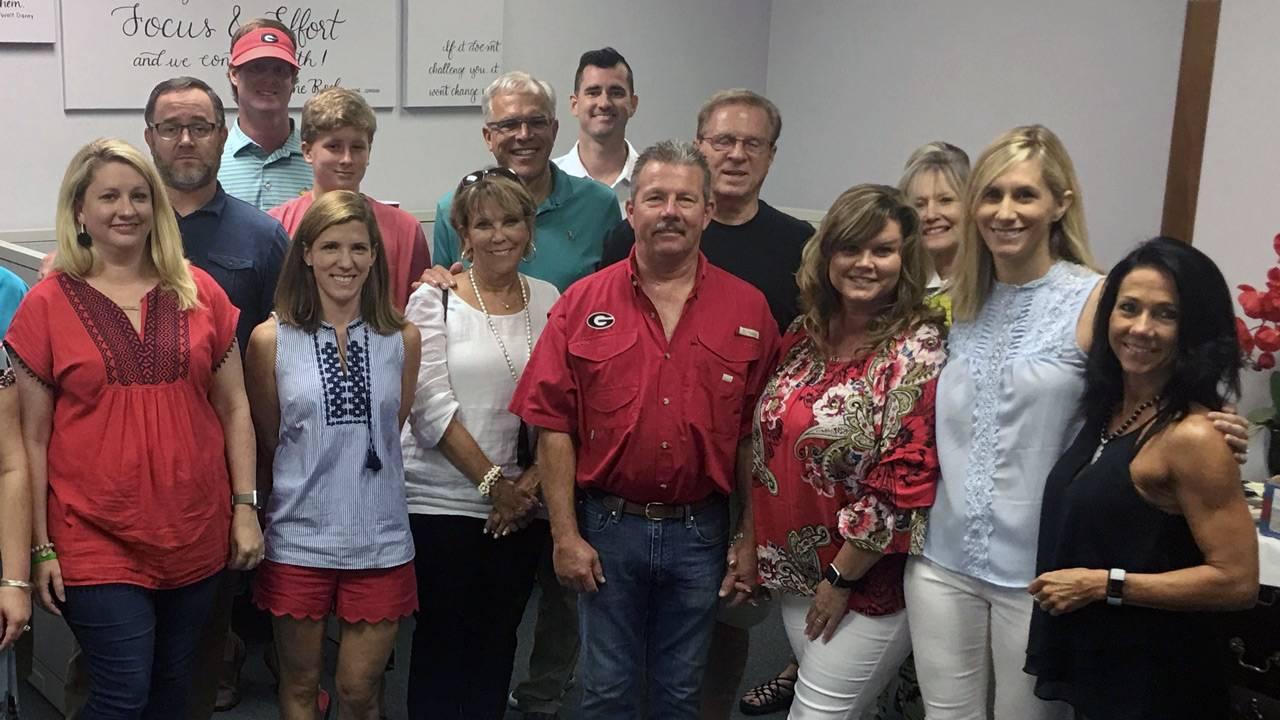 Carolyn's and Richard's family