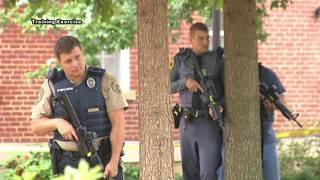 A live emergency drill is held at Washington and Lee University