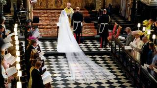 Royal wedding: Meghan Markle and Prince Harry tie the knot