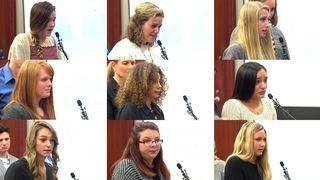 WATCH: Day 6 of victims addressing former doctor Larry Nassar at&hellip&#x3b;