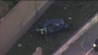 1 killed in crash that shut down I-595 ramp to northbound I-95