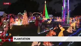 Despite obstacles, Hyatt family continues lavish Christmas' lights display