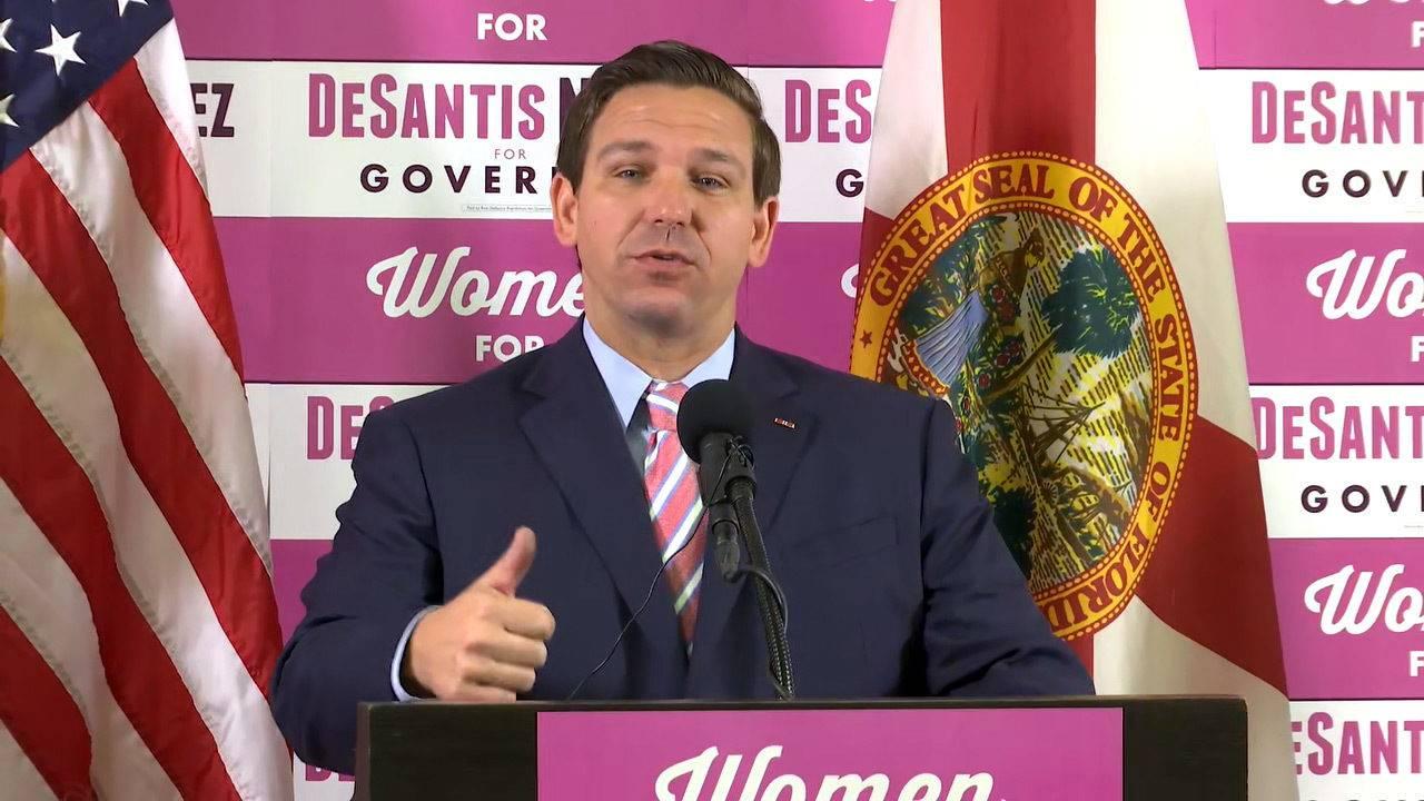 Desantis Gives Nod To Women In Workforce At Jacksonville Event